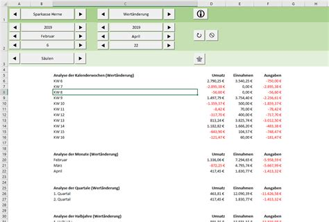 Excel-Tool: FinanzManager
