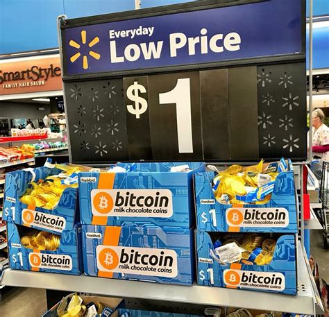 Walmart Sells Chocolate Bitcoins for 6 a Dollar - CoinWire
