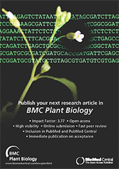 The Evolution and Impact of BMC Plant Biology