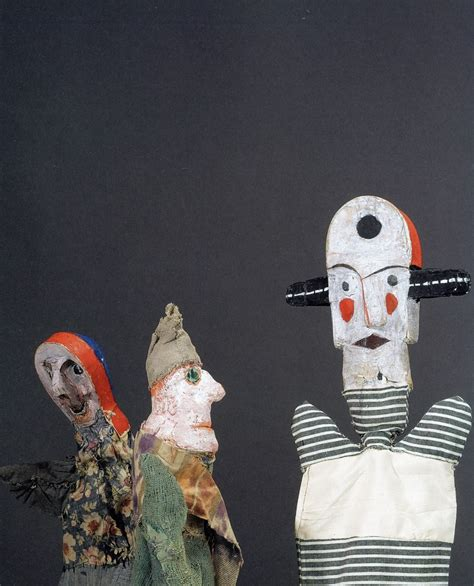 Glove Puppets The Buddha of Bauhaus Paul Klee Made For His