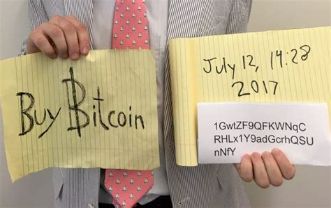 'Bitcoin Sign Guy' Nets Almost $15,000 After Fed Chair
