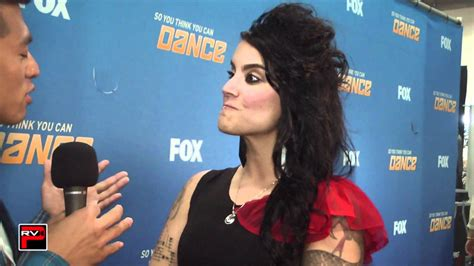 SYTYCD 200th Episode Post Show Interview - Sonya Tayeh
