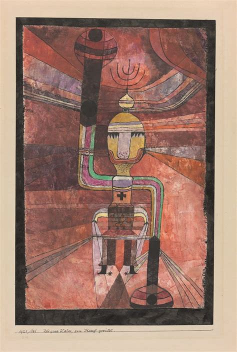 The Arrows Mean Death: A New Show of Paul Klee's Wartime