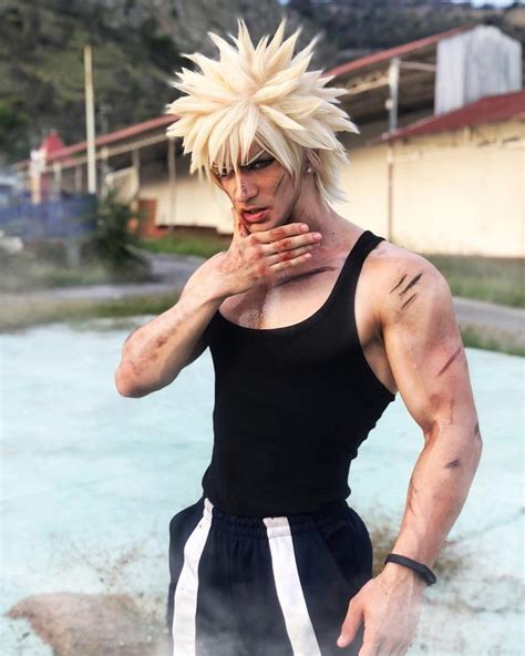 Leon Chiro Cosplay Art © — — I win…💥 Even with All Might's