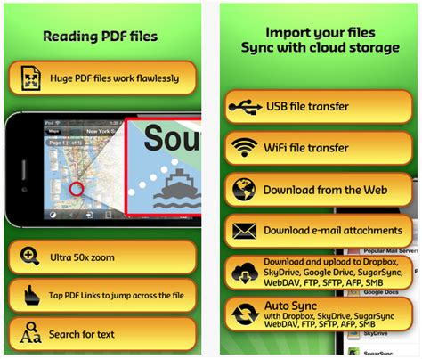 GoodReader Is Good to Go for iPhone 5, Now Supports SMB