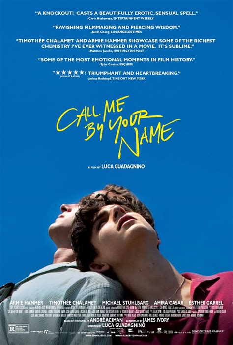 Call Me by Your Name (2017) Poster #1 - Trailer Addict