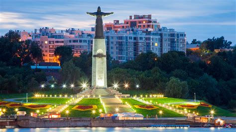 What do during a weekend in Cheboksary, the heart of the