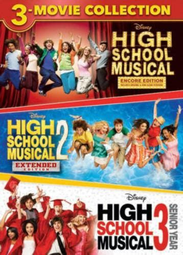 High School Musical: 3-Movie Collection - New on DVD | FYE