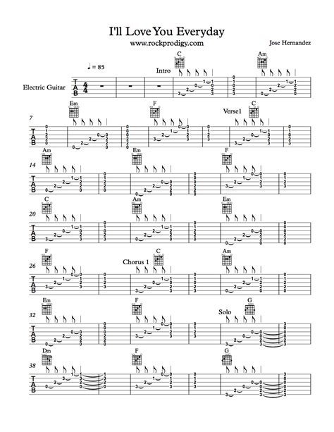 Practice your open chords to this fun song