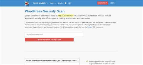 21 Awesome Free Tools To Check & Scan WordPress